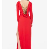 Promoção!!! Vestido Longo Vermelho Importado Bcbg Maxazria