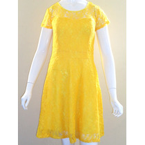 Vestido De Renda Moda Evangélica (pp Ao Gg)
