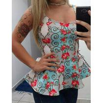 Blusa Peplum, Moda, Verão, Blusa Feminina