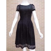 Vestido Renda Moda Evangélica (p-m-g) 4 Cores - Pura Flor