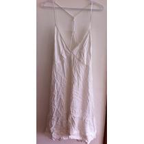 Vestido Farm Branco Tiras Costas