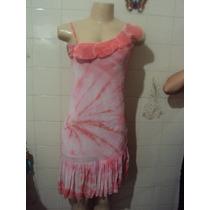 Vestido Rosa Confecções Passion 153 Ltda Tamanho P