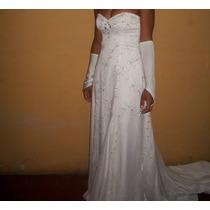 Vestido De Noiva Tomara Que Caia - Frete Grátis
