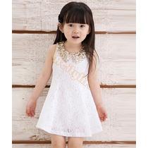 Lindo Vestido Infantil Importado A Pronta Entrega