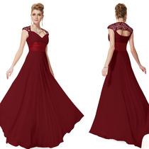 Vestido Festa Usa Ever Pretty Pr Entrega=g=103-106 Cm Busto