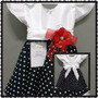 Vestido De Festa Luxo Infantil Anos 60 - Pronta Entrega!!!