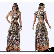 Maravilhoso Vestido Longo Nozinho. Coleção 2014
