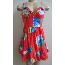 Abercrombie Vestido Estampado Tamanho Pp