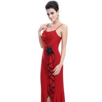 Vestido Festa Ever Pretty Vestido Longo Vermelho # Importado