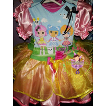 Vestido Fantasia Roupa Aniversário Lalaloopsy