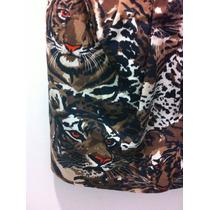 Vestido Animal Print Onça Triton