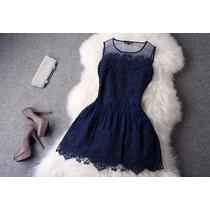 Compre Vestido Festa Importado Lindo Vintage Renda