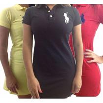 Vestido Feminino Polo P, M, G, Gg. Voce Linda E Sex!.