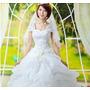 Vestido Importado Festa Noiva Debutante Lindo Pronta Entrega