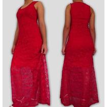 Vestido Longo Renda Plus Size- Festa- Casamento- Formatura