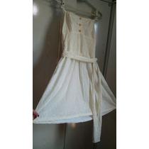 Vestido Branco Lesi P Rodado Lastec Nas Costas