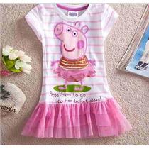 Vestido Da Peppa Pig - Pronta Entrega - Original - Promoção!
