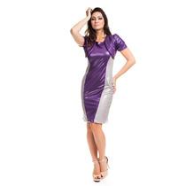 Moda Executiva Elegante Vestido Social