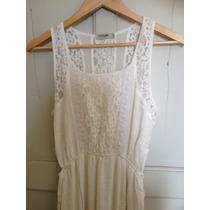 Vestido Off White Branco Da Marca Costume Original Promoção