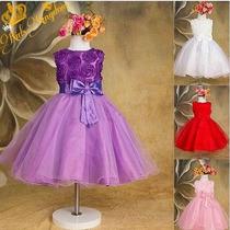 Vestido Infantil Princesa Frete Gratis