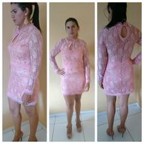 Vestido Festa Balada Madrinha Casamento Renda Varios Modelos