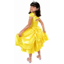 Vestido Da Bela - Fantasia Para Festa Tema Bela E A Fera