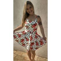Vestido Letícia Com Bojo. Tecido Neoprene. Verão 2016.