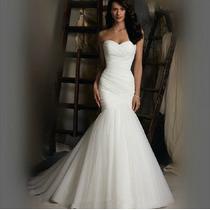 Vestido De Noiva Sereia Lindo - Novo- Pronta Entrega