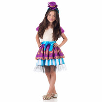 Fantasia Infantil Ever After High Madeline Hatter Luxo