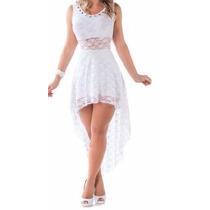Leve 2 Lindos Vestidos Renda Noite Eventos Balada Casamento