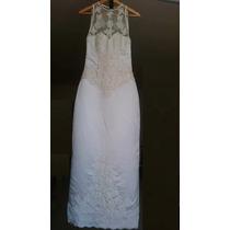 Vestido De Noiva Perolado