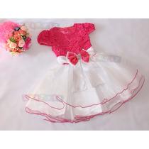 Vestido Festa Gatinha Marie - Minnie Rosa - Princesa Aurora