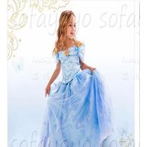 Fantasia Vestido Cinderella 2015 Cinderela .