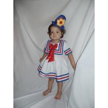 Fantasia Vestido Patati Bebê