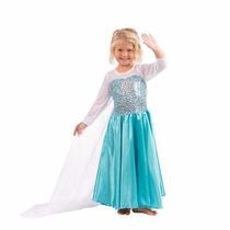 Fantasia Princesa Elsa Infantil Tam 4 Anos Pronta Entrega