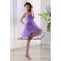Vestido De Noiva Debutante Lilás Novo - Pronta Entrega