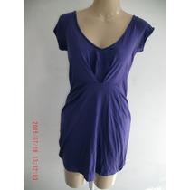Lindo Vestido - Zara - Em Algodão Orgânico Tam:p