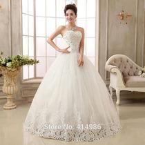 Vestido De Noiva Em Tule Bordado, Festa, Casamento, 15anos