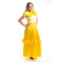 Fantasia Princesa Bela - Infantil