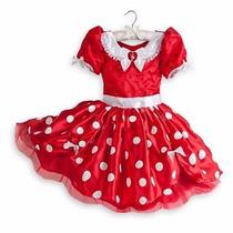 Vestido Minnie Mouse Authentico Da Loja Disney P/entrega