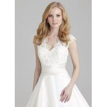 Vestido De Noiva Allure Bridal Modelo 2558 Tamanho G