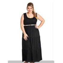 Lindo Vestido Plus Size Longo Gordinha Linda Roupa Grande