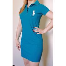 Kit 3 Vestidos Feminino Polo Ralph Lauren Big Pony Promoção