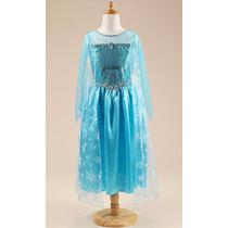 Fantasia Elsa Frozen,lindo, Varios Modelos E Tamanhos
