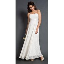 Vestido De Noiva Tomara Que Caia E Laço De Cetim