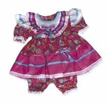 Vestido Festa Junina Princesa Menina Infantil 1 A 4anos