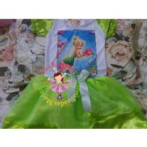Vestido Fantasia Roupa Aniversário Tinker Bell Sninho