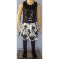 Vestido Menina Infantil Festa Casual Aniversário 8 Anos