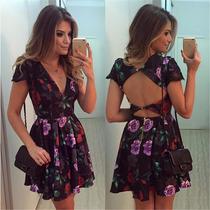 Vestido Feminino Curto Importado Frete Gratis Para O Brasil!