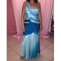 Lindo Vestido Importado Degradê Tamanho 40/42 Festa